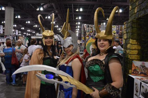 Lady Thor & Lokies
