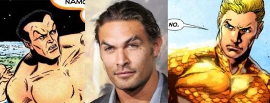 Jason Momoa as Aquaman?
