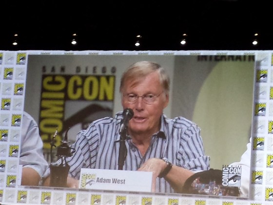 Adam West at San Diego Comic Con International 2014