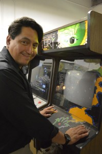 Michael Lovato, co-owner of StarFighters Arcade