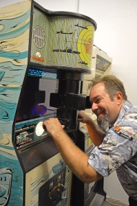 Steve Thomas, co-owner of StarFighters Arcade