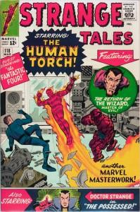 Strange Tales #118 - March, 1964