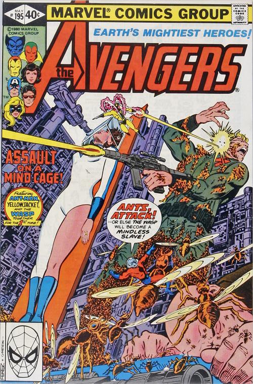Avengers #195 – May, 1980