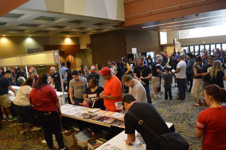 Picking up passes for  2015 Amazing Arizona Comic Con
