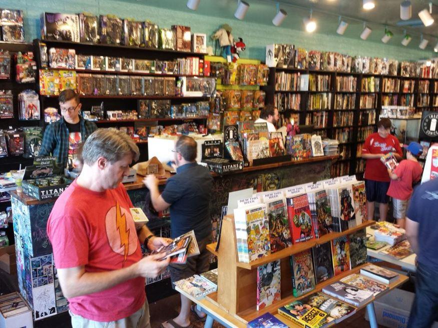 Ash Ave. Comics - FCBD 2015