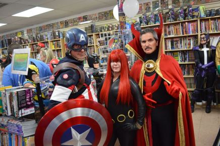 Avengers at All About Books and Comics - FCBD 2015