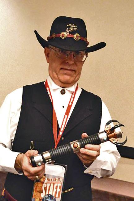 Bill Mullins Navajo Jedi Lightsaber