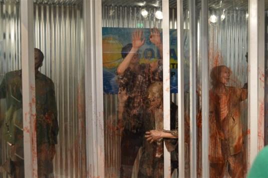 The Walking Dead exhibit