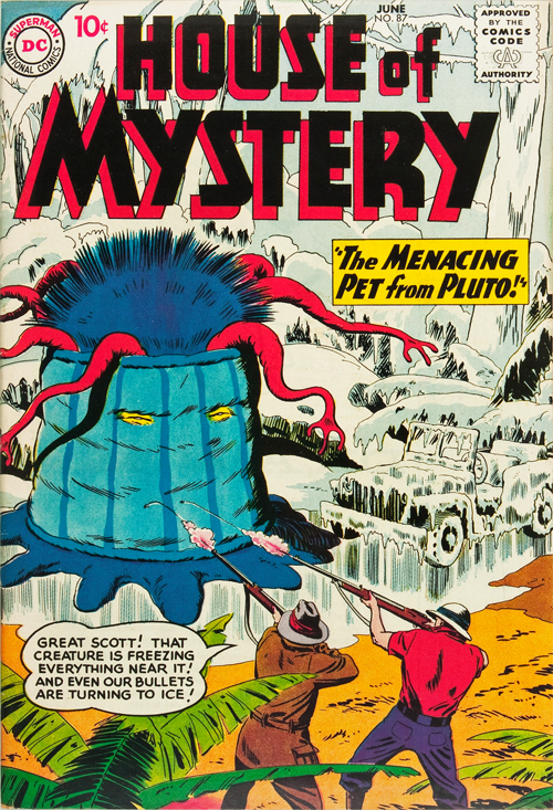 House of Mystery #87 – June, 1959