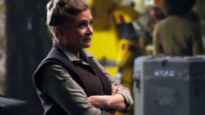 Carrie Fisher as Leia Organa in Star Wars: Episode VII -- The Force Awakens