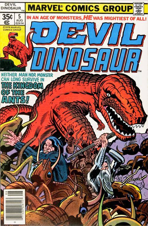 Devil Dinosaur #5 - August, 1978