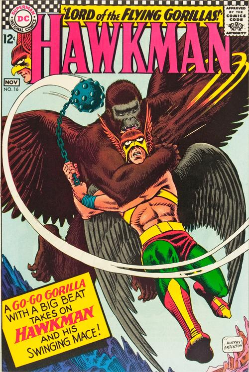 Hawkman #16 - November, 1966