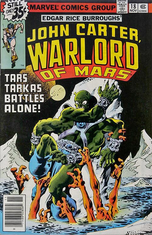 John Carter, Warlord of Mars #18 – November, 1978