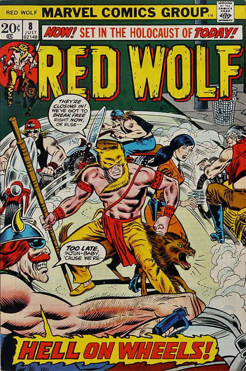 Red Wolf #8 – July, 1973