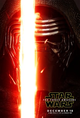 Kylo Ren The Force Awakens character posters