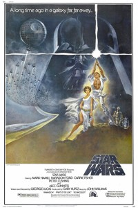Tom Jung Star Wars poster (1977)
