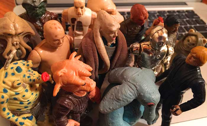 Return of the Jedi action figures