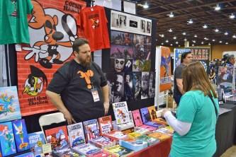 Local hero and comic creator Denny Riccelli.