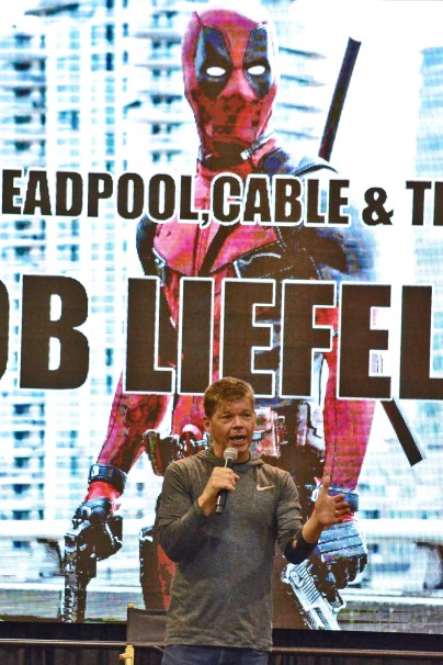 Rob Liefeld at AACC 2016.