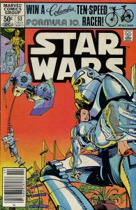 Claremont's Star Wars #53 started as a John Carter story.