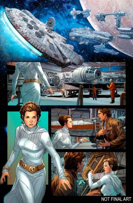 Star Wars Han Solo #1 comic