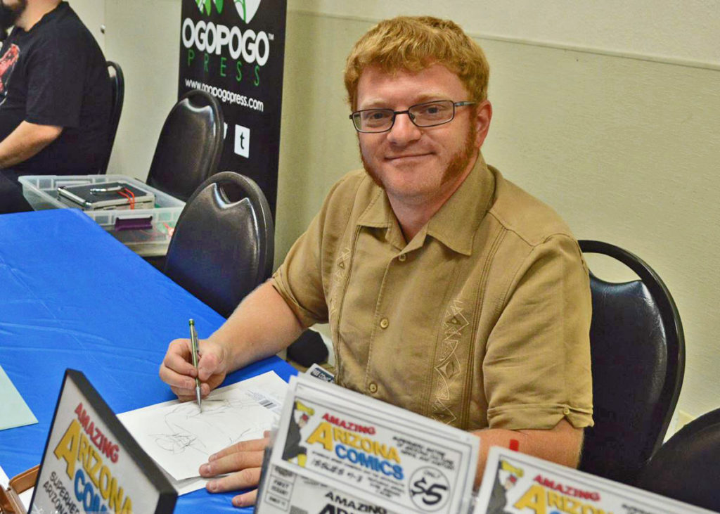 Amazing Arizona Comics' creator, Russ Kazmierczak - Free Comic Book Day 2016