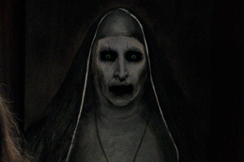Conjuring demon nun Valak