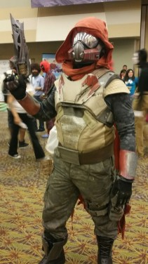 Destiny Hunters like this one were dotted all around the convention. [photo by Justin Franco]