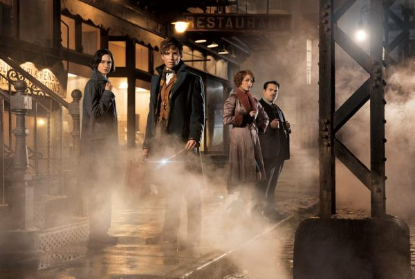 Fantastic Beasts with Newt, Tina, Queenie and Jacob