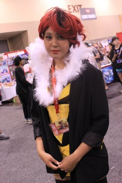 Red from Transistor. [photo by Christen Bejar]