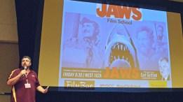 Joe Fortunato at Phoenix Comicon Jaws Screening