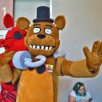 Hooked on Freddy Fazbear cosplay...Phoenix Comicon 2016 - Thursday