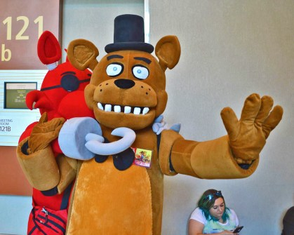 Hooked on Freddy Fazbear cosplay...Phoenix Comicon 2016 - Thursday