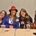 Constellations and Pop culture panel - (L-R) Lisa Will, Karen Knierman, Amelia Stahl, Teresa Ashcraft
