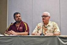 ASU Film Professor, Joe Fortunato and Carl Gottlieb