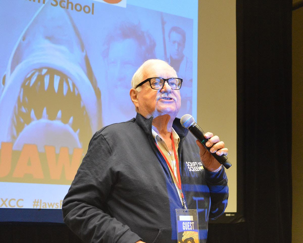 Carl Gottlieb at Phoenix Comicon Jaws Screening