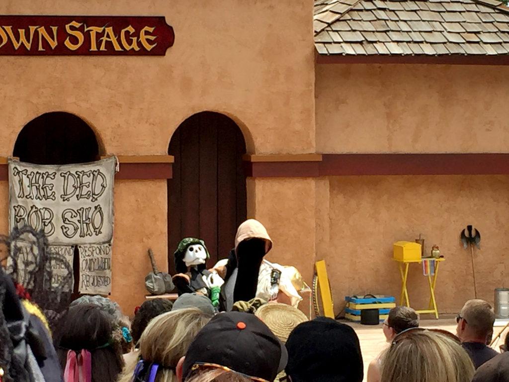 Colorado Renaissance Festival: The Ded Bob Sho