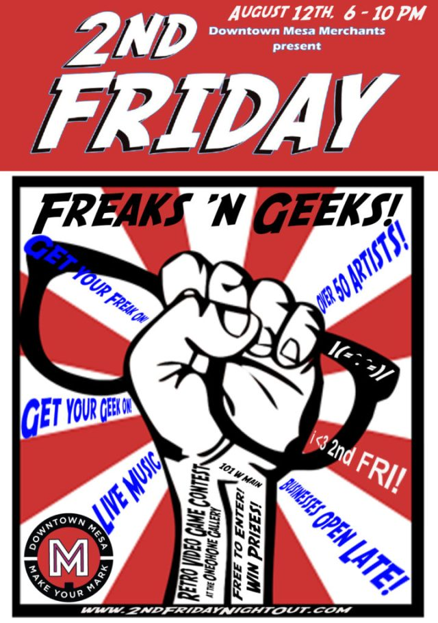 2nd Friday freaks and geeks