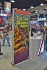 Tarzan and the Planet of the Apes at the Dark Horse booth - San Diego Comic-Con 2016