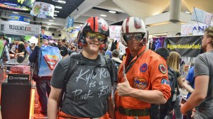 Anabel Martinez & Allen Amis at San Diego Comic-Con 2016