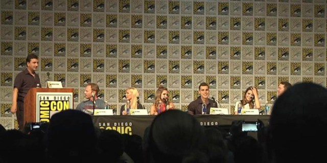 Sharknado 4 panel at SDCC