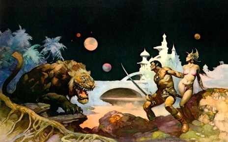 John Carter of Mars - art by Frank Frazetta