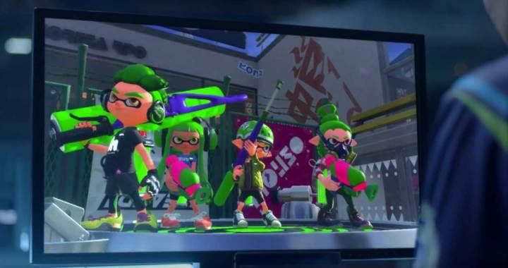 Splatoon on Nintendo Switch