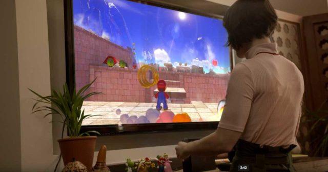 Super Mario game on Nintendo Switch