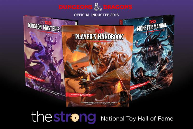 Dungeons & Dragons Toy Hall of Fame