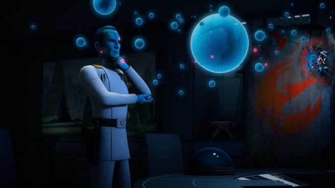 Star Wars Rebels: Imperial Eyes - Grand Admiral Thrawn