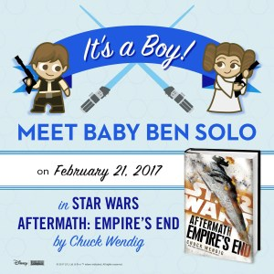 Aftermath Ben Solo birth announcement