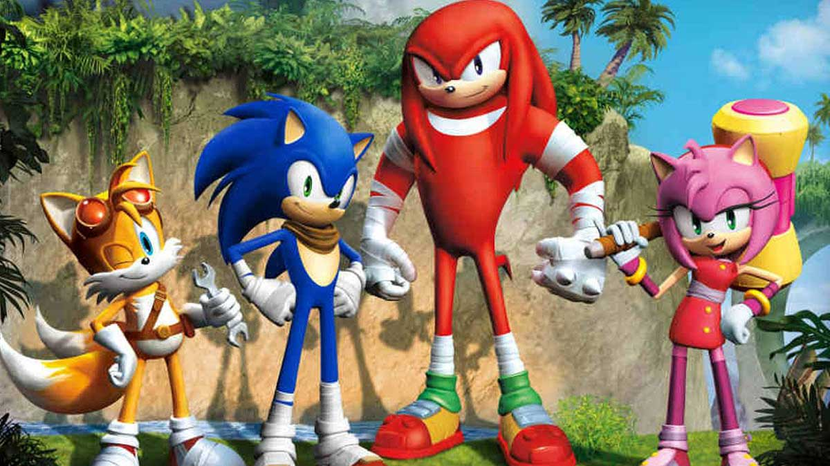 Speeding in the wrong direction? Sonic the Hedgehog TV shows going to the Downhill Zone ...