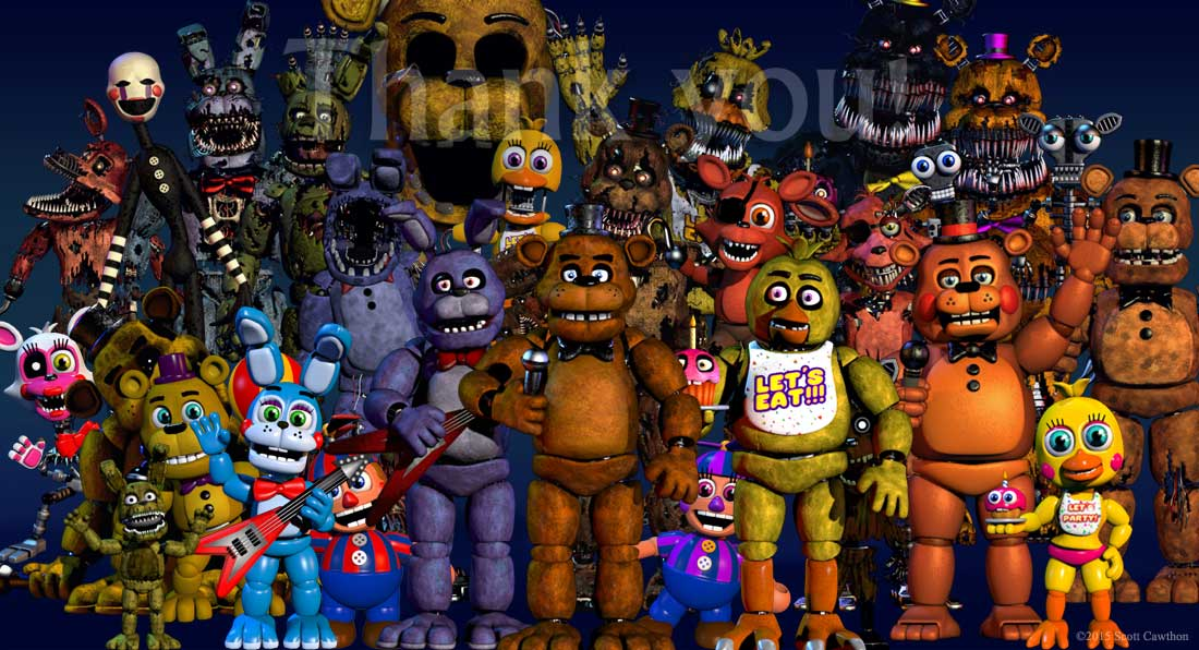 A cryptic conversation: New FNAF World source coding revealed