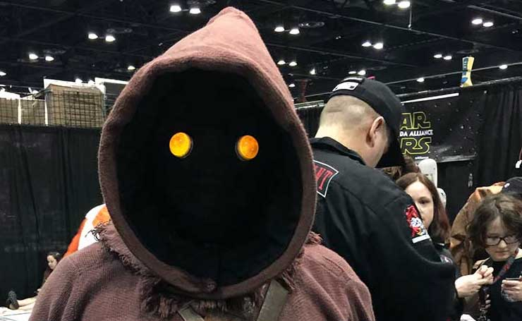 VIDEO: Scenes from the Star Wars Celebration floor